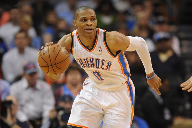 Thunder's Russell Westbrook Believes Derrick Rose Is Close to Comeback