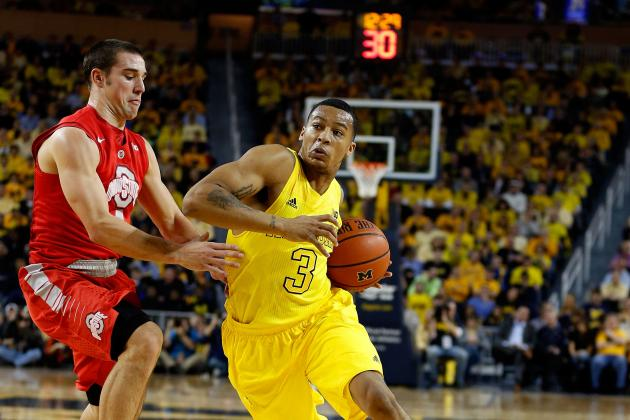 Detroit Pistons Draft Targets: Trey Burke, PG-Michigan