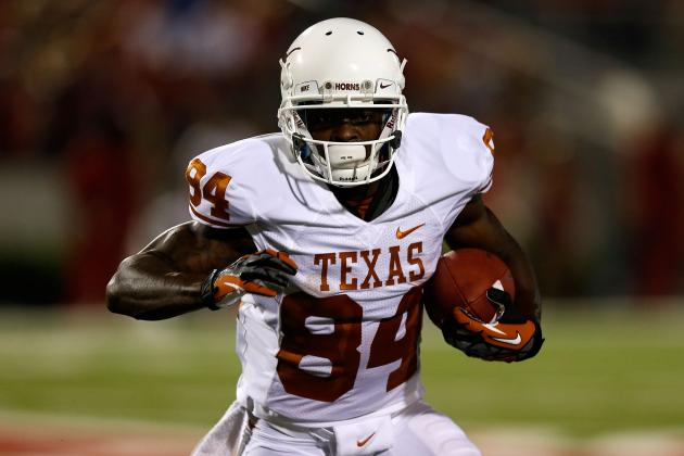 Former Longhorn Goodwin Runs a 4.27 40-Yard Dash at NFL Combine