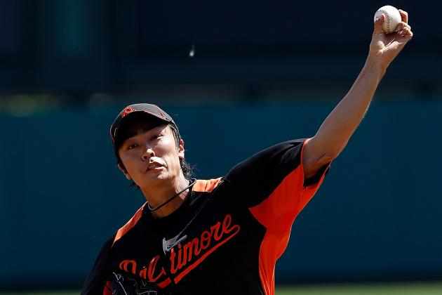 Orioles Lefty Tsuyoshi Wada Throws from Full Mound for First Time This Spring