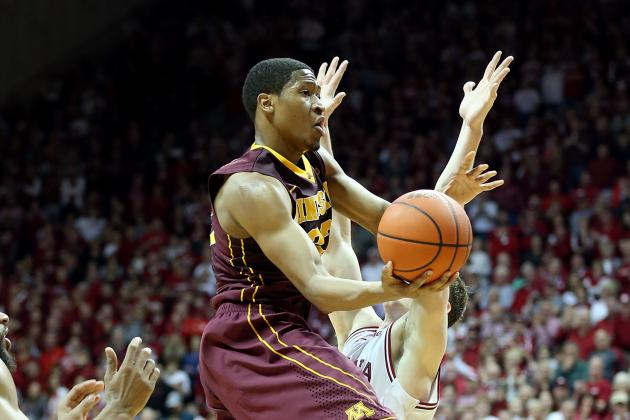 Gophers Basketball: Rodney Williams Healthy but Might Not Start