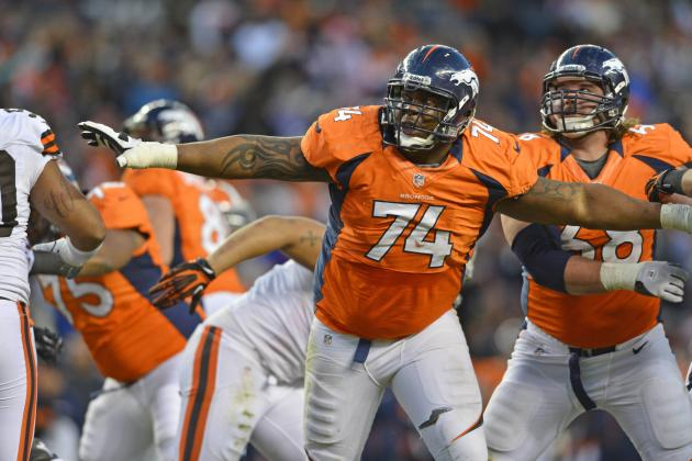 Broncos Will Consider Moving Orlando Franklin from OT to OG