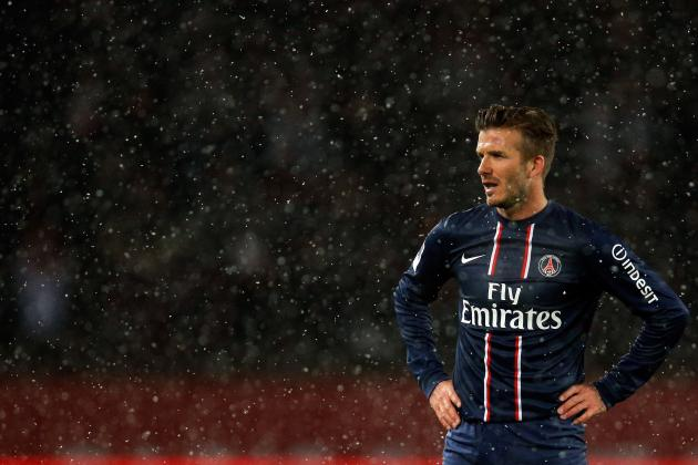 David Beckham: All the Reaction, Videos and Tweets of His Paris St-Germain Debut