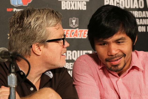 Manny Pacquiao Must Heed Trainer Freddie Roach's Career Advice