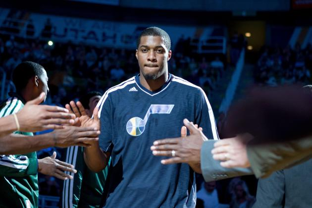 Derrick Favors Still Buried in Utah Jazz's Frontcourt Log-Jam