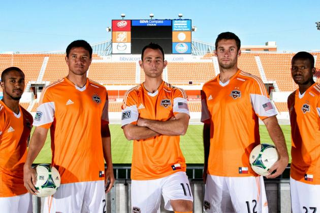 Breaking Down Houston Dynamo's New 2013 Kits