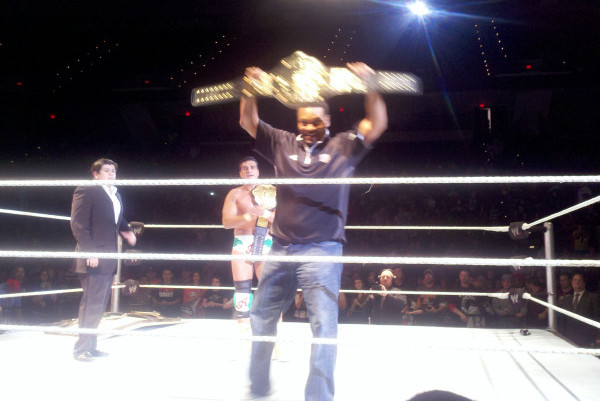 Kevin Sumlin Awarded 'honorary' WWE Title, Then Proceeds to Earn It