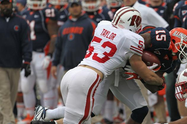 Badgers LB Mike Taylor Won't Be Ready for Pro Day March 6