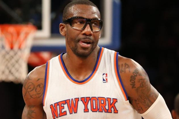 Woodson: Knicks' Stoudemire Has 30-Minute Cap