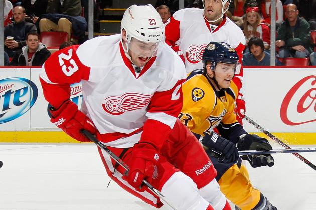 Red Wings Sign Lashoff to Three-Year Extension