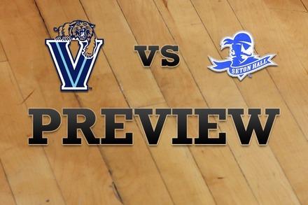 Villanova vs. Seton Hall: Full Game Preview