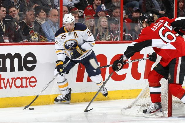 Sabres Vanek Thinks It'll Take .724 Hockey to Get into the Playoffs