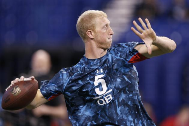Chiefs Evaluate Quarterbacks at NFL Combine
