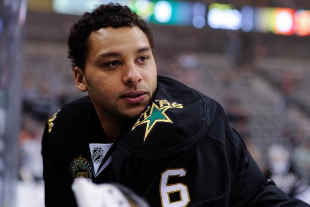 Stars Activate Trevor Daley from Injured Reserve