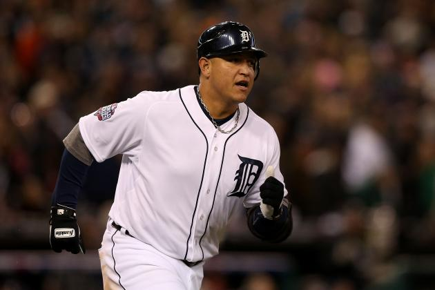 Miguel Cabrera Launches Long Home Run over Tiki Bar at Bright House Field