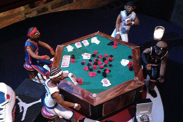 Richard Hamilton's Amazing Birthday Cake Is Way Better Than Yours