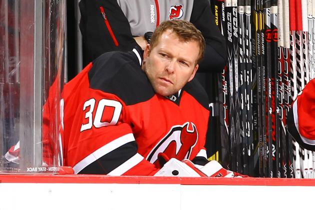 Devils List Brodeur as Day-to-Day with Sore Back