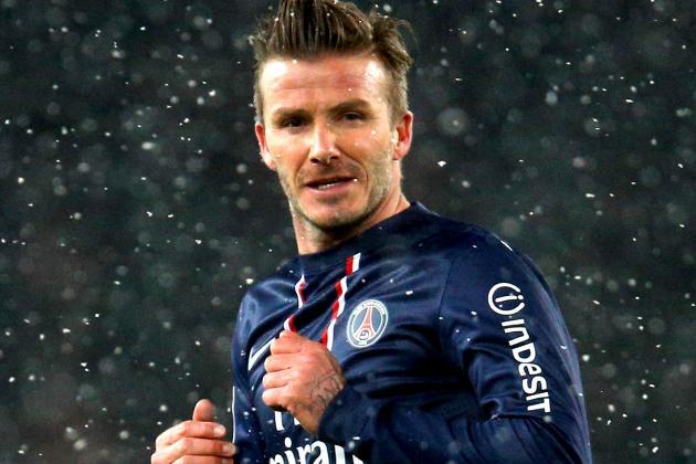 How Does David Beckham Fit into Paris Saint-Germain's Starting XI?