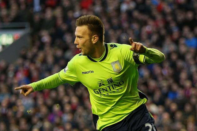Weimann Unsure About Signing New Deal at Relegation-Threatened Villa