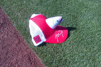 See the Ugliest Mike Trout Cap in History
