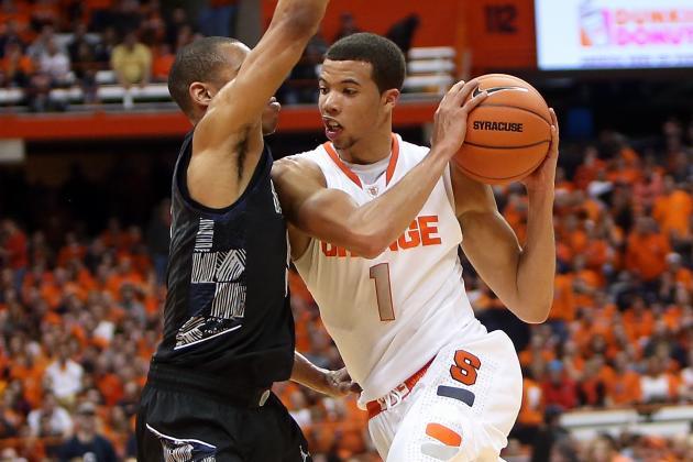 No. 22 Marquette Beats No. 12 Syracuse 74-71