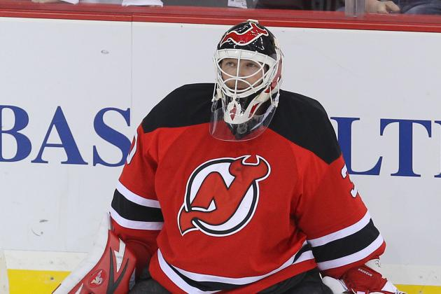 Devils' Martin Brodeur Is 'Day to Day' with Sore Back