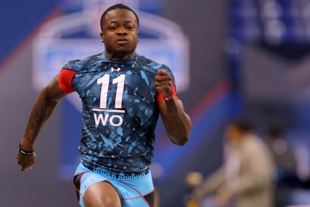NFL Combine 2013: 15 Fastest 40-Yard Dash Times for Wide Receivers