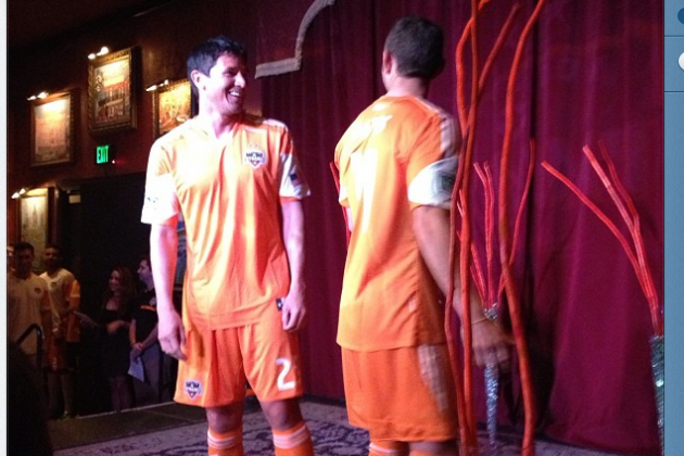 Dynamo's Ching, Davis Model New Jerseys