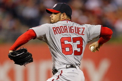 Reliever Rodriguez Close to Game-Ready