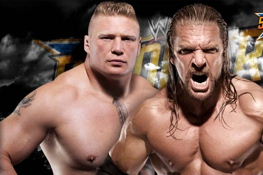 WWE Makes Expected Move with Brock Lesnar vs. Triple H at WrestleMania 29