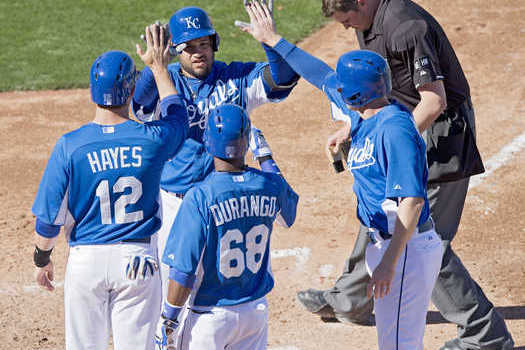 Royals Ride Big Innings to Rout Diamondbacks 16-4