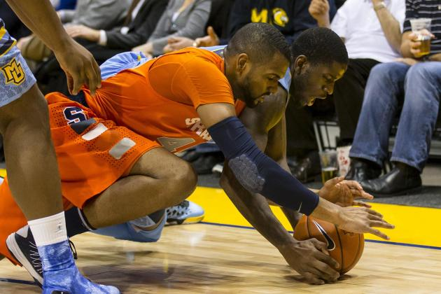 Syracuse's Back Court Struggles Becoming a Major Concern