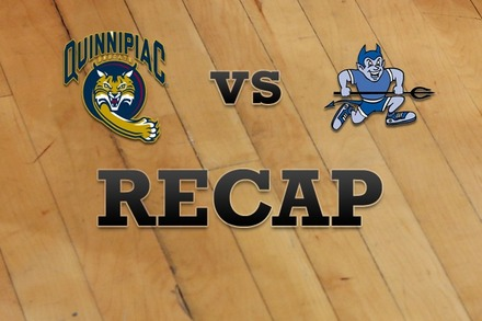 Quinnipiac vs. Central Conn. : Recap, Stats, and Box Score
