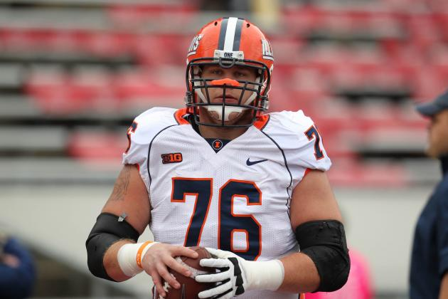 Interview with Illinois Center Graham Pocic as He Approaches the NFL Draft