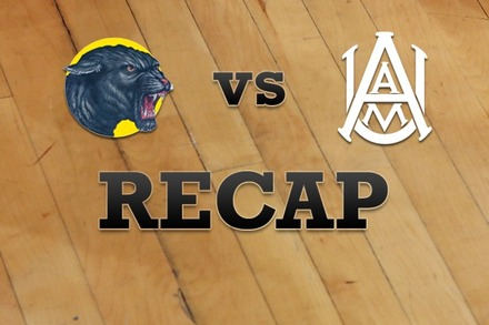 Prairie View A&M  vs. Alabama A&M: Recap, Stats, and Box Score