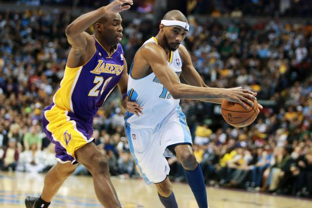 Nuggets Beat Lakers 119-108