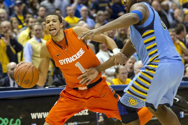 Neither Syracuse Basketball, nor Marquette Shot Well from 3