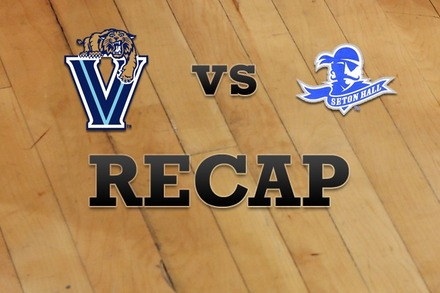 Villanova vs. Seton Hall: Recap, Stats, and Box Score