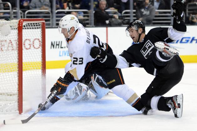 Ducks' 6-Game Winning Streak Snapped in Loss to Kings