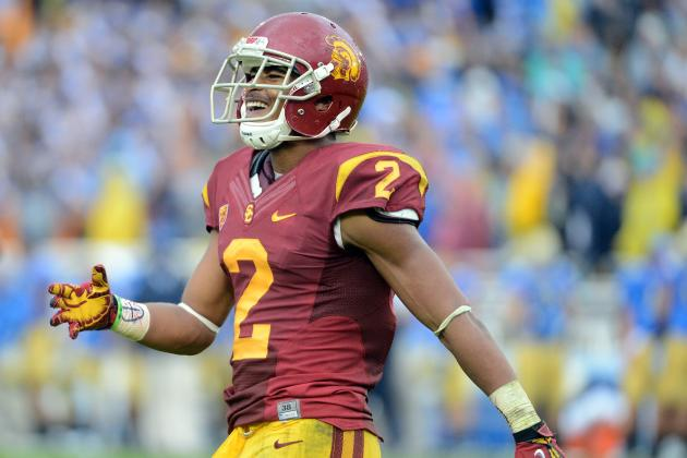 Robert Woods Combine: Evaluating Rising Draft Stock for USC WR