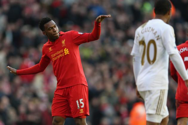 Gauging Daniel Sturridge's Impact on Luis Suarez at Liverpool