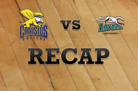 Canisius vs. Loyola (MD): Recap, Stats, and Box Score