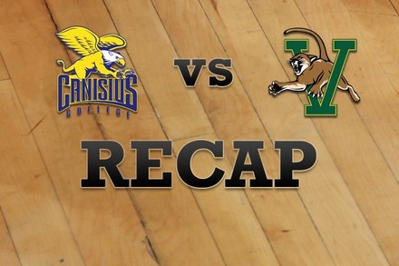 Canisius vs. Vermont: Recap, Stats, and Box Score