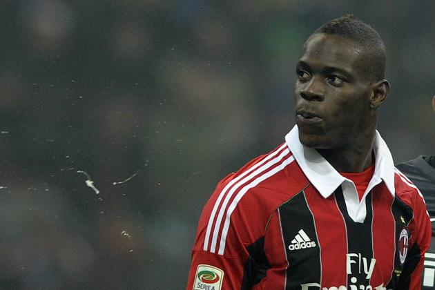 Inter Milan Fined 50,000 Euros for Fans Racial Abuse of Mario Balotelli