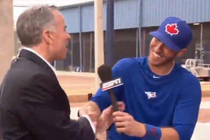 J.P. Arencibia Opens Baseball Tonight as Tim Kurkjian [Video]