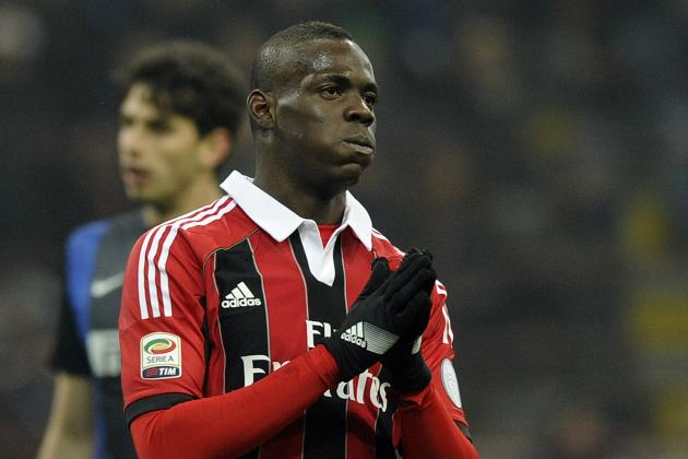 Internazionale Fined £43,000 for Fans Racially Abusing Mario Balotelli