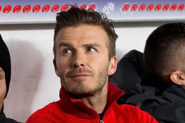 Beckham to Make First PSG Start Wednesday, Ancelotti Confirms