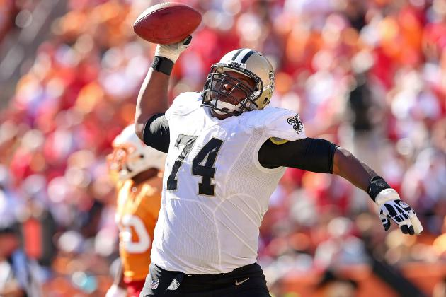 Jermon Bushrod Planning a Who Dat Harlem Shake, and More NFC South News