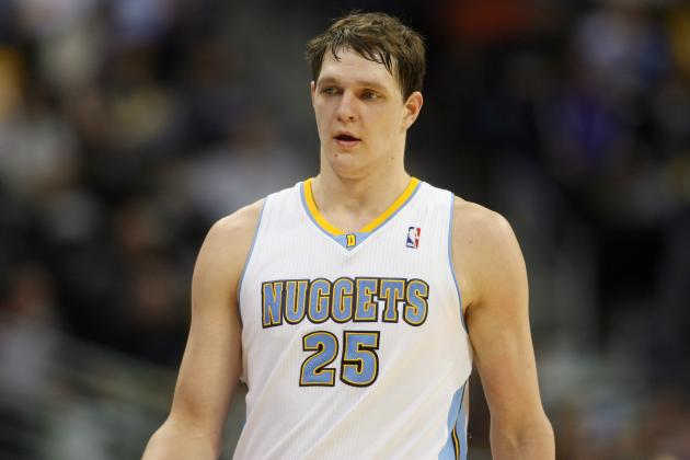 Timofey Mozgov Wants to Play, Doesn't Care About Wins