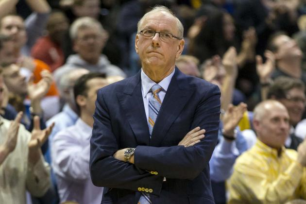 Boeheim's Emotions Boil Over After Close Loss